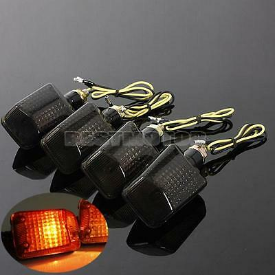 4x Universal Motorcycle Motorbike Turn Signal Indicator Light Blinker Bulb Amber