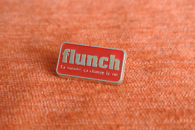 16161 Pin's Pins Flunch Restaurant Cafetaria Auchan