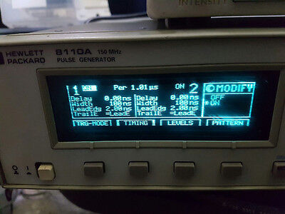Agilent HP 8110A Pulse Generator w/ Option, Tested