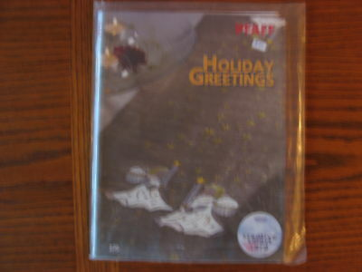 "Embroidery Designs ""Holiday Greetings""  Creative Smart Card"