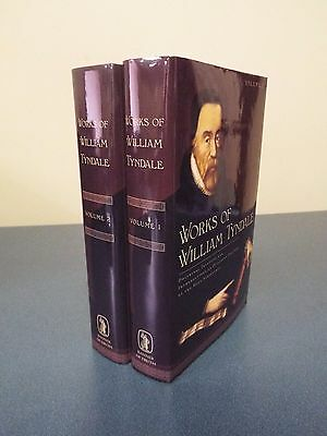 2 volume - Works of William Tyndale 2010 Facsimile