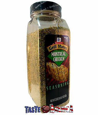 McCormick Grill Mates Montreal Chicken Seasoning 652g Catering Size