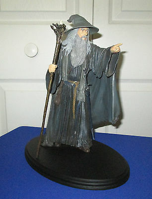 Sideshow Weta Lord Of The Rings Gandalf The Grey Statue
