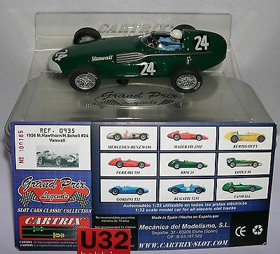 Cartrix 0935 Vanwall 1956 F1 #24  M.hawthorn-H.shell  Lted.ed  Mb