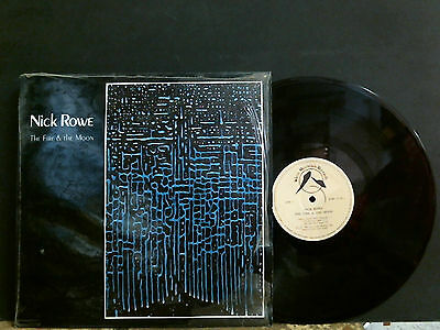 NICK ROWE  The Fire & The Moon  L.P.  New Age  Electronic    Lovely copy!