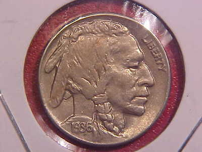 1936 S Buffalo Nickel - Ch Au - See Pics! - (E12317)