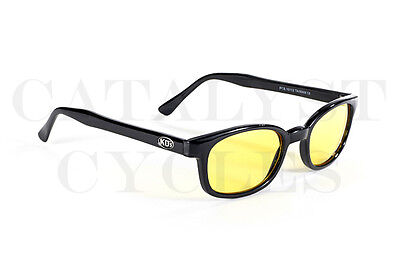 ORIGINAL KD's SUNGLASSES YELLOW LENS KDs WITH FREE POUCH ORIGINAL KD SHADES