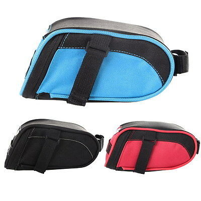 Cycling Saddle Bag Bicycle Seat Pouch Storage Bike Rear Tail Pannier Waterproof