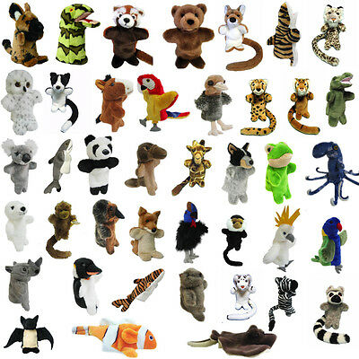 Korimco - Puppets - Pick Your Favourite Animal Puppet - BRAND NEW