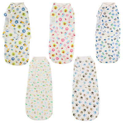 Newborn Baby Swaddle Wrap Cotton Soft Infant Blanket Sleep Bag For Baby 0-6Month