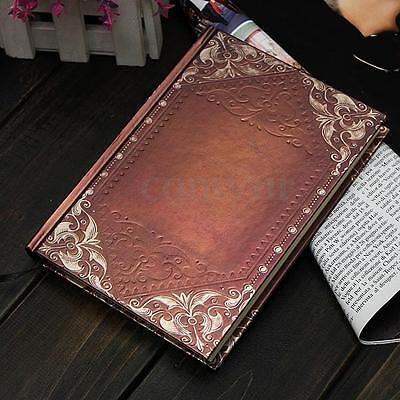 Retro Vintage Personal Notebook Diary Journal Organiser Book School Office Gift