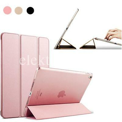 "Hot For Apple iPad Pro 9.7"" Slim Leather Folding Magnetic Smart Case Cover"