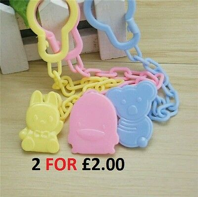 Baby Dummy, Pacifier, Soother, Teether or Toy Clip holder.