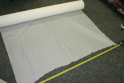 White Fabric Light Weight Nylon / Polyester Material Military Surplus Materials
