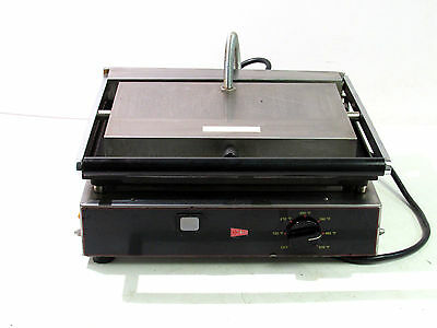 Cecilware Tsg-1G Electric Adjustable Single Grooved Panini Grill Press **good**