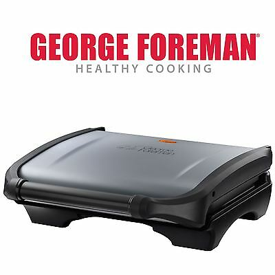 George Foreman 5 Portion Family Fat Reducing Food Grill Press + Drip Tray 19920