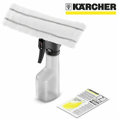 Karcher Window Vacuum Accessories Spray Bottle Kit with Microfibre Cleaning Head