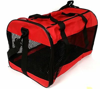 Cat Dog Animal Portable Collaspsible Travelling Carrier Bag For Transporting