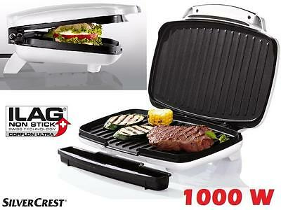 Silvercrest Kitchen Tools Kontaktgrill Grill 1000 W Fleisch Sandwich Maker Toast
