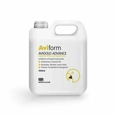 Aviform Avigold Advance All-in-One Liquid Bird Tonic Vitamin Supplement 1000ml