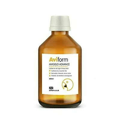 Aviform Avigold Advance All-in-One Liquid Bird Tonic Vitamin Supplement Birds