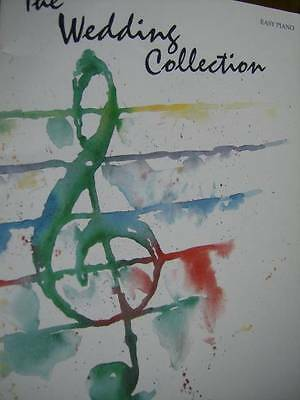 The Wedding Collection Music Book Easy Piano Mostly Contemporary