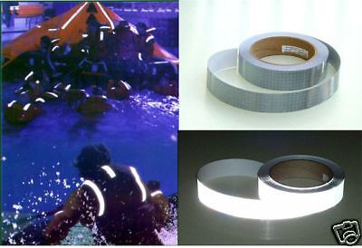 "Reflective SOLAS Marine Tape  1"" x 5ft  long"