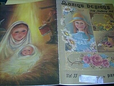 Quaint Designs From Mulberry Hill Painting Book #2 (II) Clarke - People, Flowers
