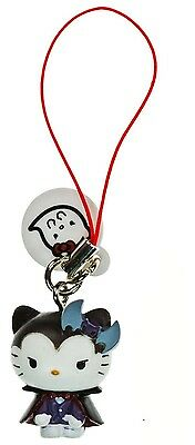 Hello Kitty Vampire Monster Collection Danglers Gacha Charm Strap Tomy New