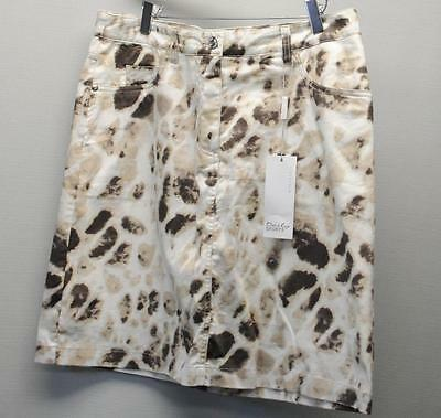 New Ladies Size US 10 Daily Sports Camo Cotton Polyester Golf skorts