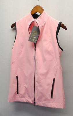 New SMALL Ladies EP PRO Impressions pink sleeveless golf & ski windvest