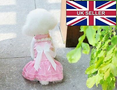 Fancy Wedding Prom Dress For Dogs