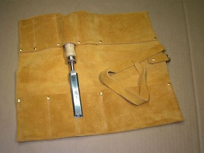 Chisel Roll - Leather - German Made - 6 or 12 Pocket