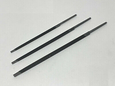 Saw File-Grobet-Switzerland-Extra SlimTaper- 2nd cut - Each - 3 sizes available