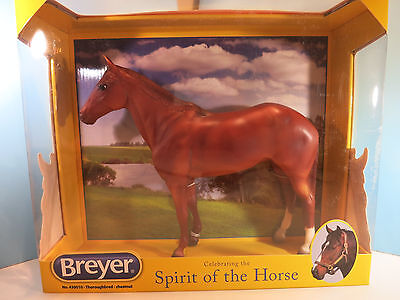 BREYER TRADITIONAL-Chestnut Thoroughbred Horse Model-New In Box