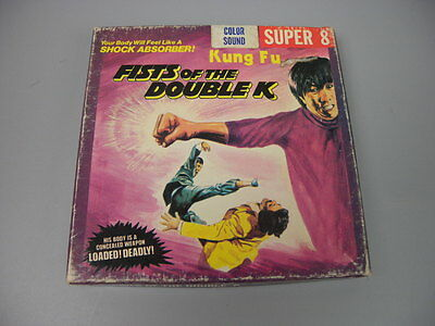 "Fists Of The Double ""K"" Super 8mm 8 Home Movie K11 Film Ken Films"