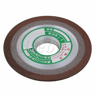 BQLZR Silver Resin Diamond Grinding Wheel 75mm Dia Carbide Steel Cutter 180 Grit