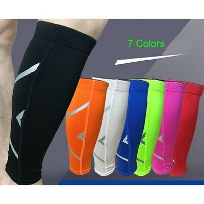 Outdoor Sporting Leg Calf Brace Support Stretch Sleeve Compression Running Pads