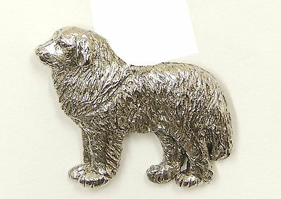 Pyrenean Brooch, Silver Plated