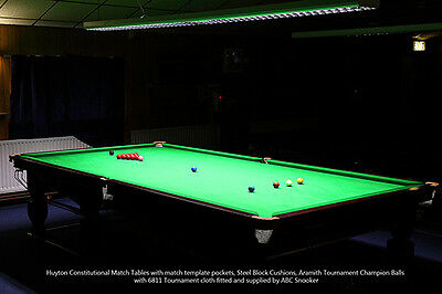 Complete Professional Tournament Snooker Table Lighting System