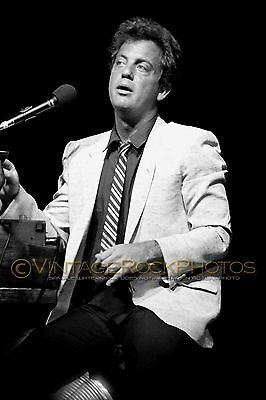 Billy Joel Photo 8x12 or 8x10 inch Live 1980's Concert from 35mm Original Neg 18