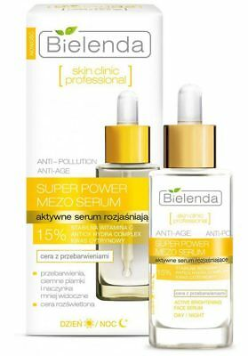 Bielenda Skin Clinic Professional Super Power Mezo Actively Brightening Serum
