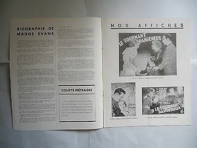 AGE OF INDISCRETION/PAUL LUKAS+MADGE EVANS/ french pressbook 1935
