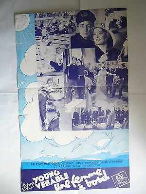 VAGABOND LADY/ROBERT YOUNG+EVELYN VENABLE/french  pressbook