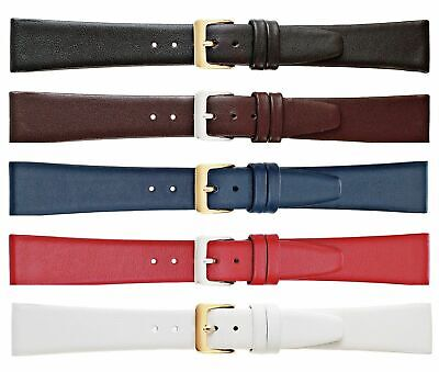New Ladies Regular Genuine Smooth Calf Leather Watch Strap Band