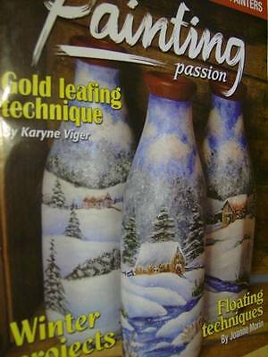 Painting Passion Canadian 2008/9 Magazine Winter Projects- Gold Leafing