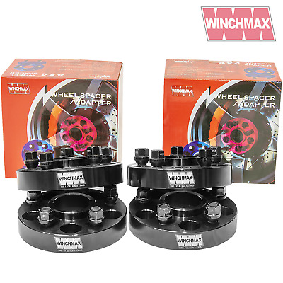 30Mm Wheel Spacers Land Rover Discovery Mkii -Disco 2, Range Rover P38 Blk T2