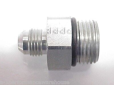 NEW Steel Straight Male O-Ring Adapter Fitting -10AN to -6AN  NASCAR