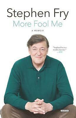 More Fool Me: A Memoir by Stephen Fry (English) Paperback Book Free Shipping!