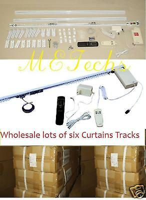 Wholesale 6 20ft Remote Automatic Window Shades Track